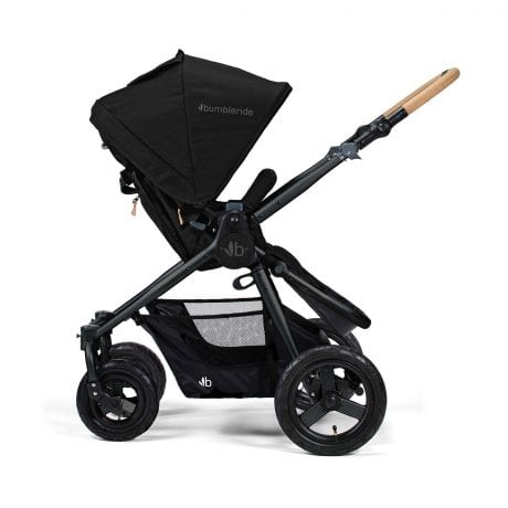 Bumbleride Era reversible stroller in matte black