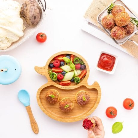 Eco Rascals Duck Plate and Spoon
